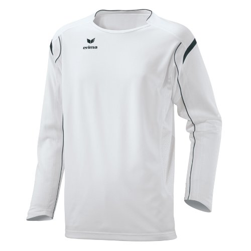 Erima Trikot Nano Nano Line weiß/schwarz, L/XL (Kurzarm-volleyball Trikot)