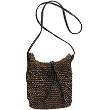 Bolsa tejida - Bolso de la playa del Crochet de las mujeres, bolso de hombro
