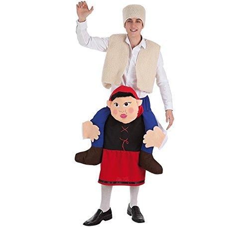 Zzcostumes Costume da pastore sulle spalle di una pastorella per gli uomini