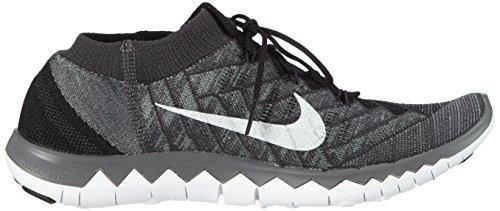 cinzento Sapatos Flyknit 0 escuro 3 Preto Livre Corrida Branco De Cinzento Nike antracite Homens T1Ewqz