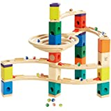 Hape Quadrilla Wooden Marble Run Builder-Whirlpool-High Quality Wooden Safe Play-Smart play for Smart Family-Quality Time Playing Together