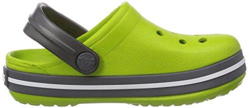 ... Crocs Crocband Kids, A bout rond mixte enfant Vert (Volt Green/Graphite)