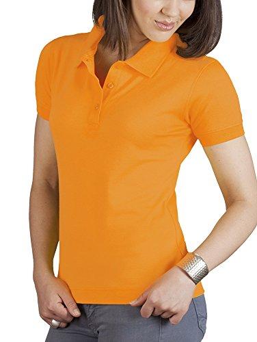Shirt classica polo da donna Arancione