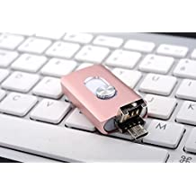 3en 1Lightning USB OTG Flash Drive 32/64/128/256GB Pen Drive para iPhone/iPad/iOS/Android/PC USB Memory Stick rosa 128 GB