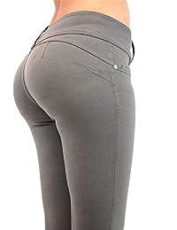 Darrin Frauen Sexy Slim war dünne Hüfthose Hohe Taille Freizeit Große  Elastizität (M,… 6cc3473bdf