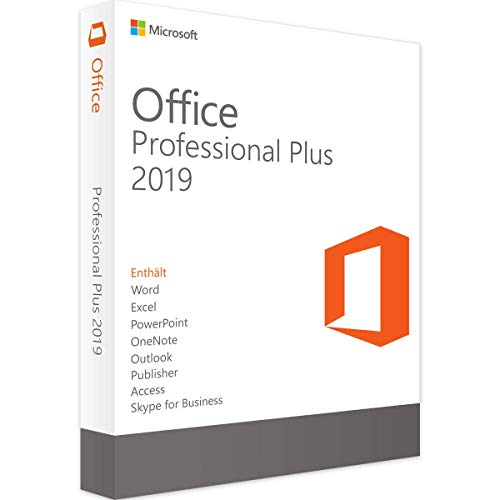MICROSOFT OFFICE 2019 PROFESSIONAL PLUS 1 PC Digital License Key - Windows 10 ONLY Compatiable Version