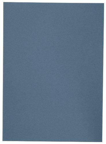 ELBA 100091649 Aktendeckel A4 100er Pack A4 aus Karton blau Blauer Engel Hefter ideal für das Büro und Schule und die mobile Organisation
