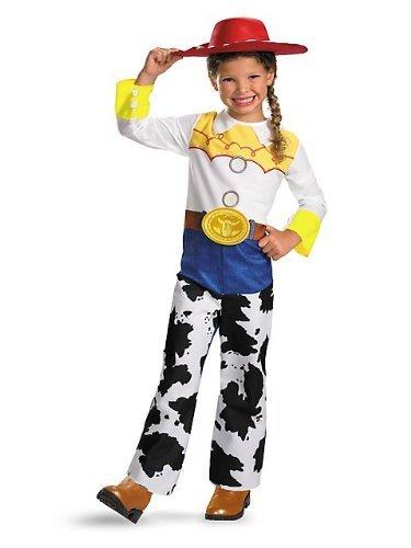 Disguise DI5480-S M-dchen Toy Story Qualit-t Jessie Kost-m Klein (Aus Kostüm Jessie Toy Story Erwachsene Für)