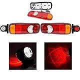 Rückleuchten Rücklicht LKW PKW Anhänger Heckleuchte + 2x 12/24V G LED Begrenzungsleuchten Positionleuchte