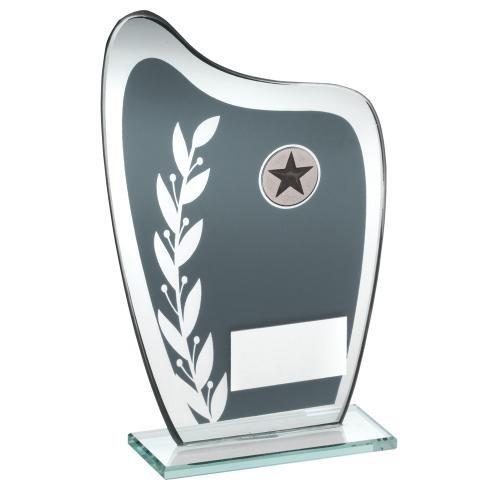 Buchstaben Hockey (16,5cm Kunstharz Hockey Trophy Award gratis Gravur bis zu 30Buchstaben)