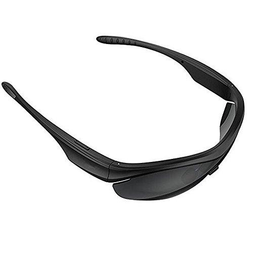 ANLW Kopfhörer Drahtlose Bluetooth-Smart-Sonnenbrille Open Music-Freisprech-Kopfhörer Stereo-Kopfhörer Für Smartphones, Tablets Und Smartwatches (Schwarz)