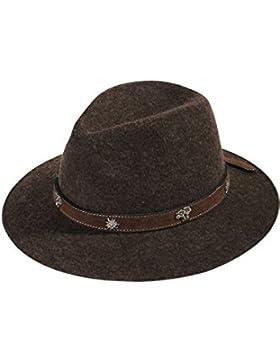 Herren Faustmann Hüte Hut braun 'Edelweiß', braun,