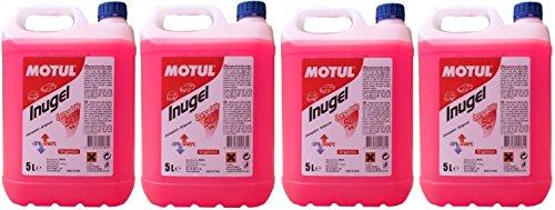 MOTUL Antifreeze Coolant Engine Inugel Long Life 50% G12,20 liters (4x5 lts), Pink