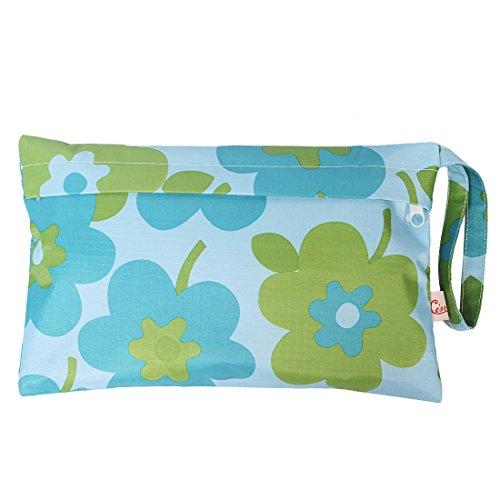 KF Baby Reisebett Wasserdicht Tuch Windel Wet Dry Tasche, kleinen groß Combo, Set von 3 Set3 B