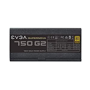 EVGA SuperNOVA 750W PC Power Supply - Gold