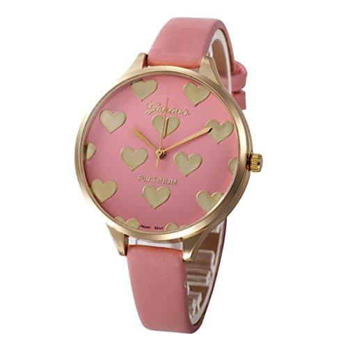 Relojes Mujer,Xinan Reloj de Pulsera Analógico de Cuarzo Cuero Imitac