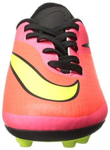 Nike 599073 690 Jr Hypervenom Phade Fg-R Jungen Sportschuhe - Fußball orange - rosa - Amarillo