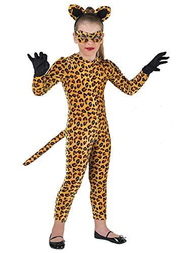 chiber - Tiger Kostüm für Mädchen (10-12 Jahre)