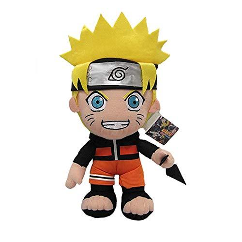 xuritaotao 30 cm Anime Naruto Uzumaki Naruto Plüsch Puppe Spielzeug Uzumaki Naruto Cosplay Kostüm Plüsch Weiche Stofftiere Geschenk Für Kinder Kinder (Plüsch-puppen Naruto)