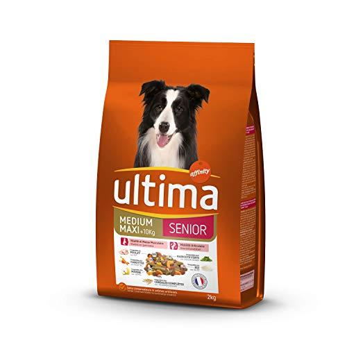 Ultima Pienso para Perros Medium-Maxi Senior con Pollo, Frutas y legumbres -...