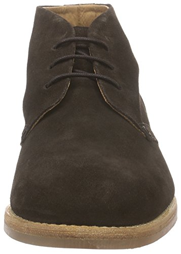 H Shoes HOUGHTON 3, Bottines Chukka à tige courte homme Marron