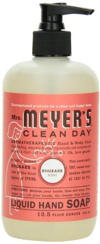 Mrs. Meyer's Clean Day Liquid Hand Soap, Rhubarb, 12.5 Fluid Ounce (Pack of 2) by Mrs. Meyer's Clean Day [Beauty] (English Manual)