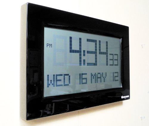 LCD Banking Hall Calendar Clock