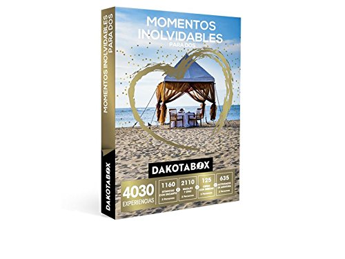 DAKOTABOX – Caja Regalo – MOMENTOS INOLVIDABLES PARA DOS – 4030 Experiencias románticas para compartir