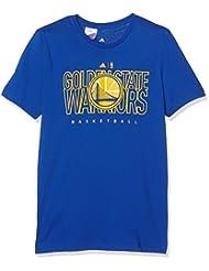Adidas - T-shirt Golden State Warriors adidas Bleu pour enfants