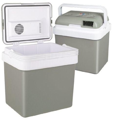 Jago - Glacière électrique portable avec fonction réchauffage - 23 l - 12/240 V