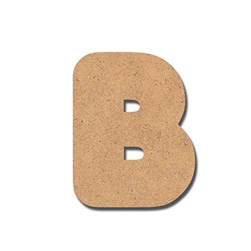 Canevas pour enfant Loisirs créatifs - Lettre en bois 7 cm B