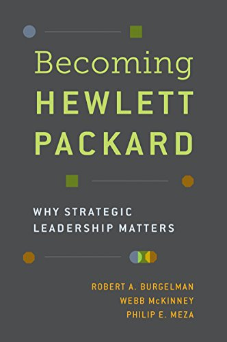 Becoming Hewlett Packard: Why Strategic Leadership Matters (English Edition)
