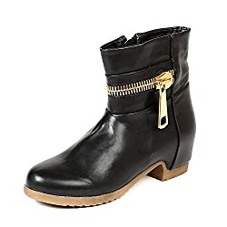 TEN Black Leather Boots