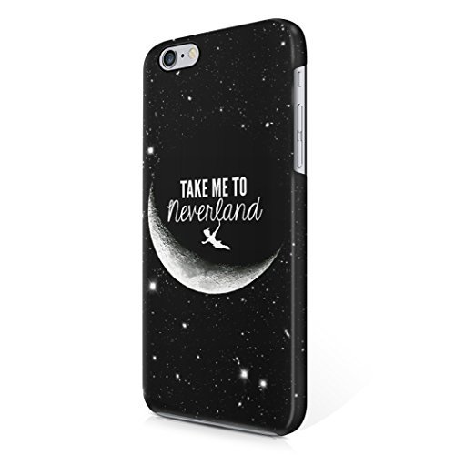 take-me-to-neverland-tumblr-moon-peter-pan-quote-hard-plastic-iphone-6-iphone-6s-phone-case-cover