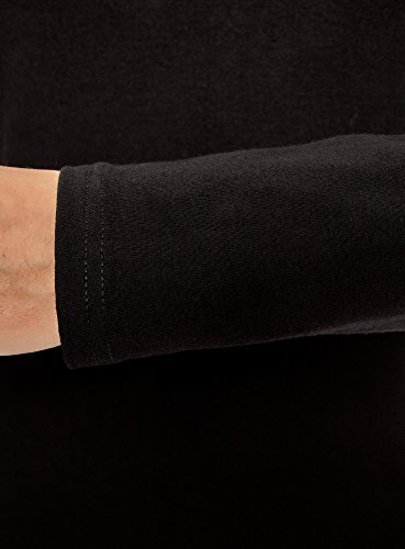 oodji Ultra Damen Enges Kleid (3er-Pack) Schwarz (2900N)