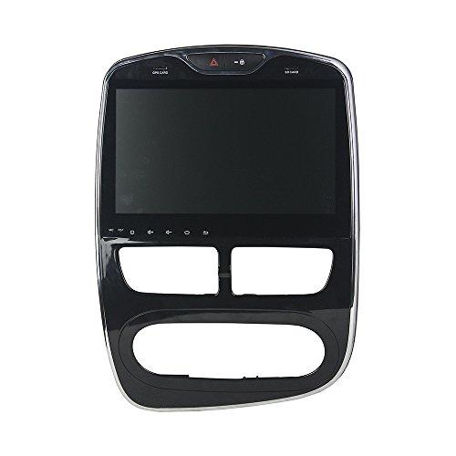 Kunfine Android 8.0Octa Core lettore DVD multimediale di navigazione GPS Car stereo per Renault Clio 2016digitale/analogico autoradio controllo del volante con 3G WiFi Bluetooth libero SD mappa