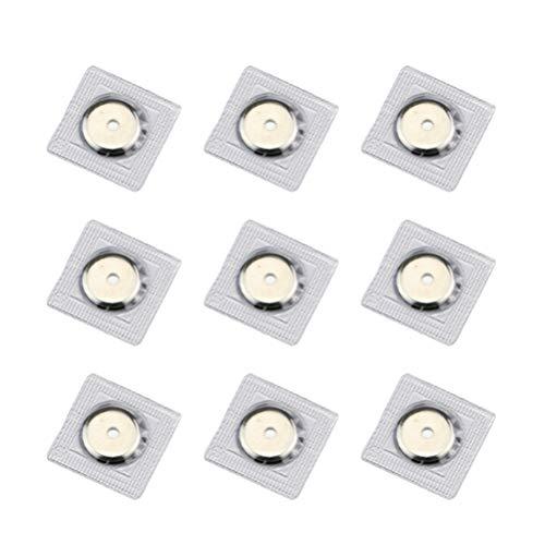 Healifty 20 stücke Magnetverschluss Snaps Magnetische Brieftasche Verschlüsse Geldbörse Snap für Verschluss Geldbörse Handtasche Kleidung Nähen Handwerk - Magnetische Snaps Geldbörse Verschlüsse