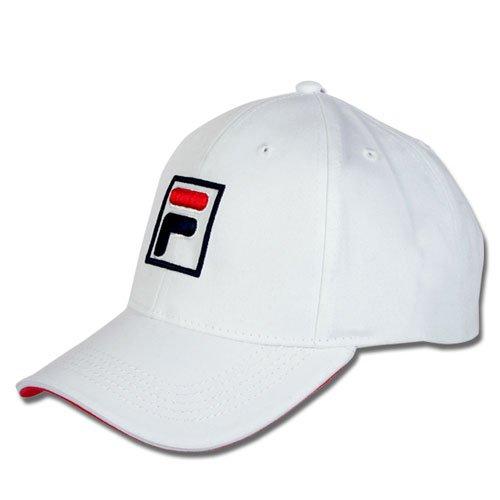 Fila Unisex Tennis Baseball Cap Kappe FORZE weiß