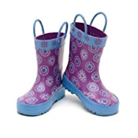 NEW DISNEY FROZEN RAIN BOOTS FOR KIDS (ELSA & ANNA) SIZE 12