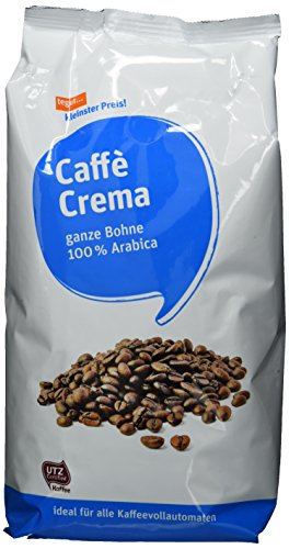 Tegut kleinster Preis Caffee Crema UTZ Bohnen, 3er Pack (3 x 1 kg)
