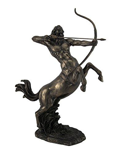 Zeckos Aufzucht Centaur Shooting Arrow Bronze Finish Statue 35,6cm