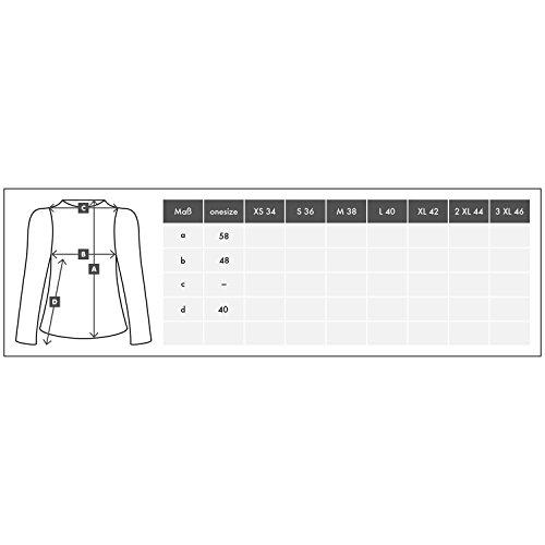 H4F Damen Bomberjacke Glitter Blouson Jacke mit Pailletten One Size 36 38 40 - 6