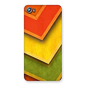 Design Of ColorMerge Back Case Cover for Micromax Canvas Fire 4 A107