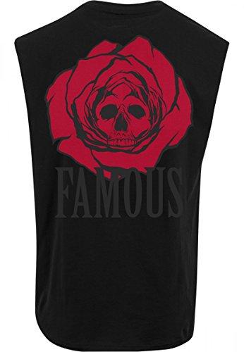 Famous Stars and Straps Canotta da uomo Dead Rose senza maniche da uomo black