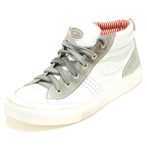 7494G sneaker uomo bianca grigia GUARDIANI sport tudor scarpa shoes men [41]