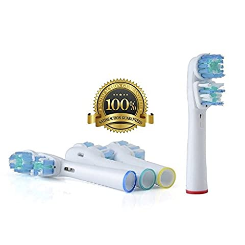 Dr. Kao® Standard Toothbrush Heads for Oral B toothbrush heads for braun toothbrush heads Dual Clean (SB-417A) for oral b heads for oral be electric toothbrush 4 pack Toothbrush oral b Electric toothbrushes for Braun Oral-B electric toothbrushes for oral b toothbrush for oral b pro 2000 heads for oral b 2000 heads for oral b pro heads for braun series 7 heads for braun electric toothbrushes