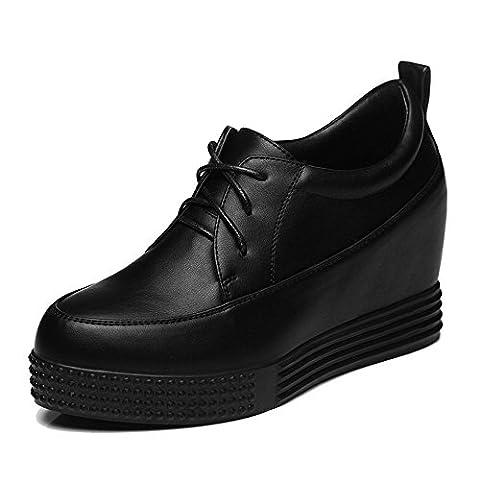 GUCIHEAVEN , Damen Stylish , Schwarz - schwarz - Größe: 38 EU