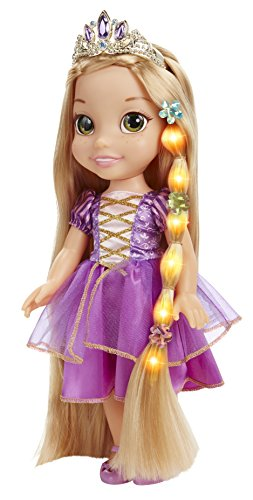 Disney Tangled Glow and Style Rapunzel Toddler Doll