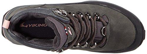 Viking Rondane Gtx, Chaussures de randonnée mixte adulte Gris - Grau (Pewter/Pink 7809)