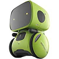 IZHH Toys, Robot Educational Toy Voice Control Robot Sensing Smart Child Novelty Toy (Green)